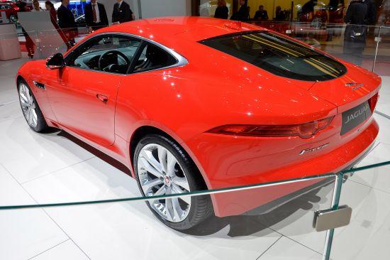 Jaguar F-TYPE Coupe Geneva