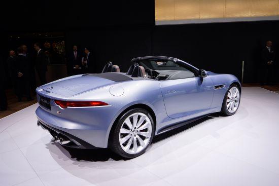 Jaguar F-Type Geneva