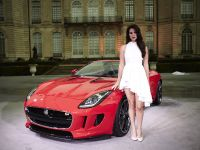Jaguar F-Type In Burning Desire, 2 of 7