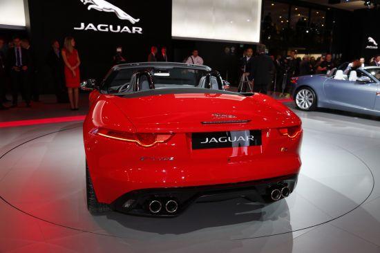 Jaguar F-TYPE Paris