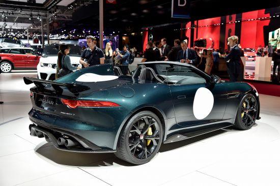 Jaguar F-Type Project 7 Paris