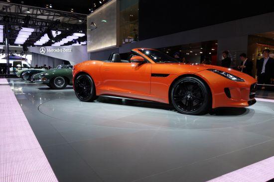 Jaguar F-TYPE Shanghai