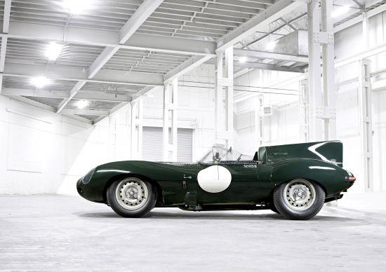 Jaguar Lightweight E-type and  Jaguar Heritage D-Type