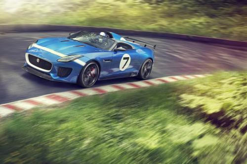 Jaguar Project 7 Concept дебютирует в Гудвуде [видео]