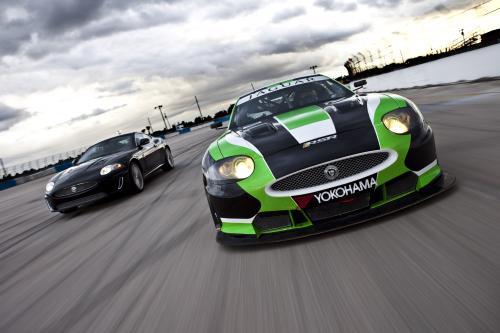 Jaguar XKR GT2 в 24 часа Ле-Мана