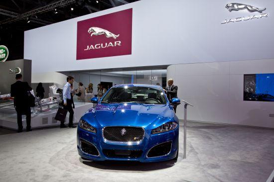 Jaguar XFR Moscow