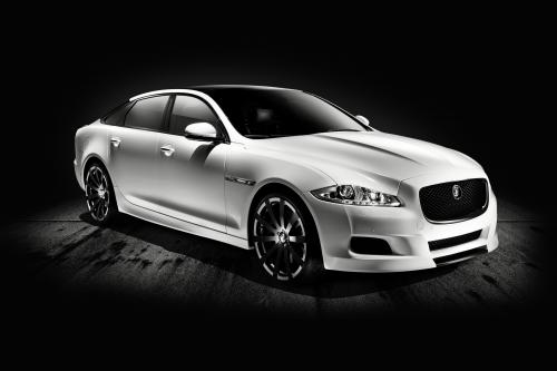 Jaguar показал XJ75 Platinum Concept