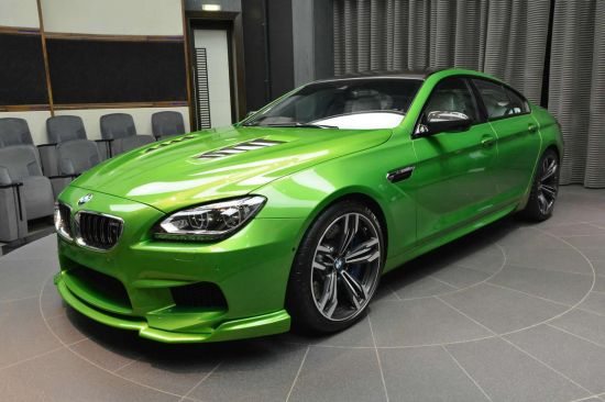 Java Green BMW M6 Gran Coupe
