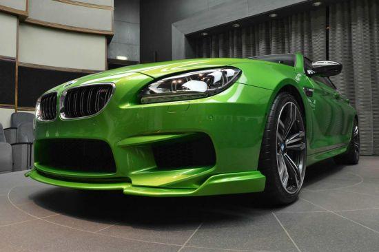 Java Green BMW M6 Gran Coupe
