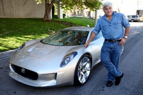 Джей Лено отзывы о Jaguar C-X75 концепция суперкара