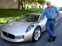 Jay Leno and Jaguar C-X75 Concept, 1 of 16