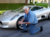 Jay Leno and Jaguar C-X75 Concept, 3 of 16