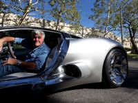 Jay Leno and Jaguar C-X75 Concept, 4 of 16