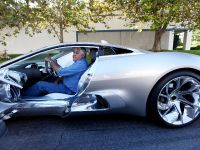 Jay Leno and Jaguar C-X75 Concept, 5 of 16