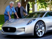Jay Leno and Jaguar C-X75 Concept, 6 of 16