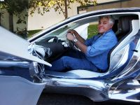 Jay Leno and Jaguar C-X75 Concept, 7 of 16