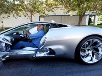 Jay Leno and Jaguar C-X75 Concept, 8 of 16