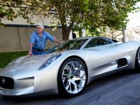 Jay Leno and Jaguar C-X75 Concept, 11 of 16