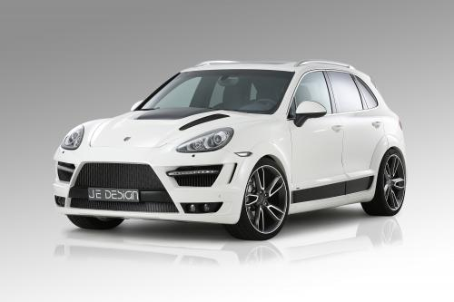 Мускулистый Porsche Cayenne by JE Design