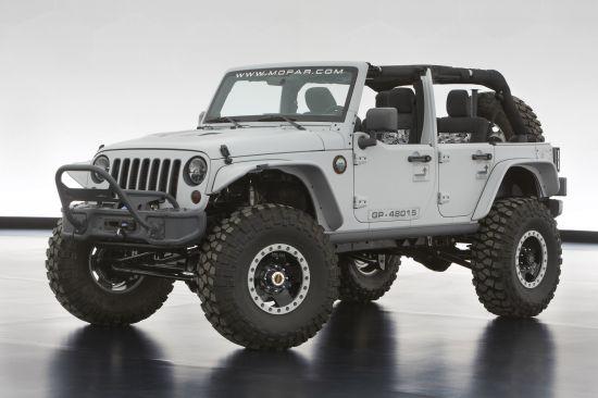 Jeep and Mopar Six Concepts