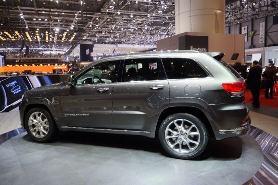 Jeep Grand Cherokee Geneva