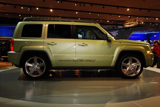 Jeep Patriot EV Detroit