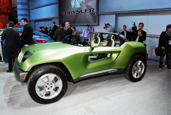 Jeep Renegade Concept Detroit
