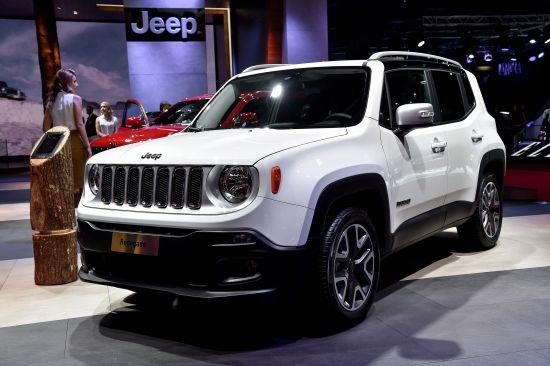 Jeep Renegade Paris