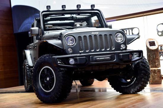 Jeep Rubicon Paris