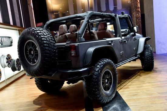 Jeep Rubicon Paris