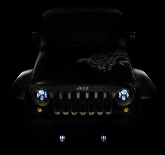 Jeep Wrangler  Beijing