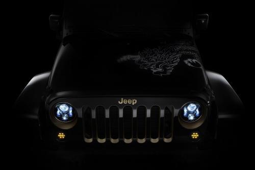"Jeep Wrangler \""Дракон\"" Дизайн-Концепции Показало,"