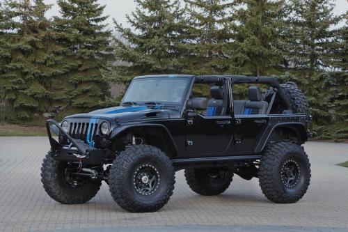 Jeep Wrangler Apache Концепции