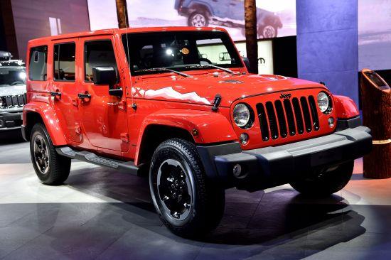 Jeep Wrangler Paris