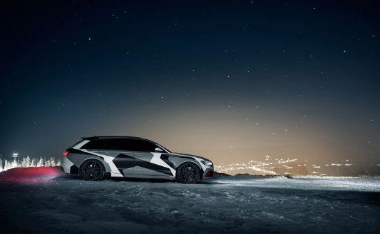 Jon Olsson Audi RS6 Avant