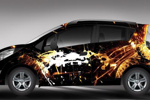 Эксклюзивный Chevrolet Spark ливреи Хосе Роча