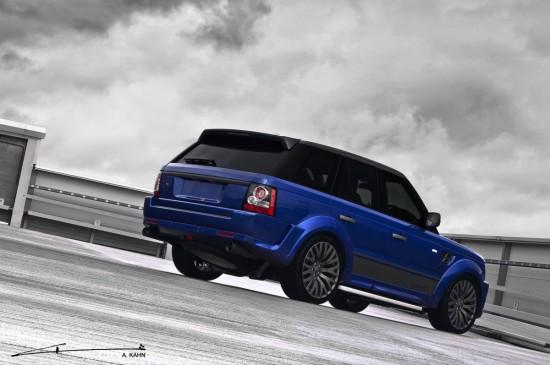 Kahn Design Imperial Blue Cosworth Range Rover
