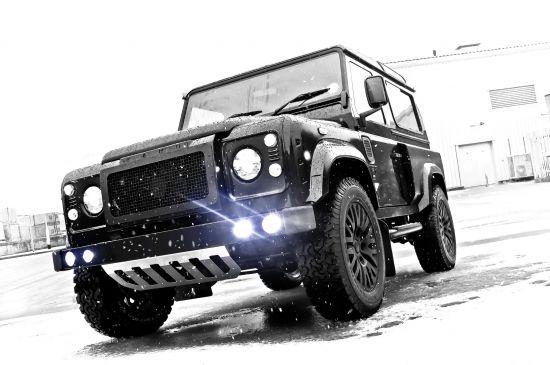 Kahn Land Rover Defender Wide Body Winter Edition