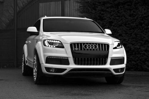 Afzal Kahn и Audi Q7