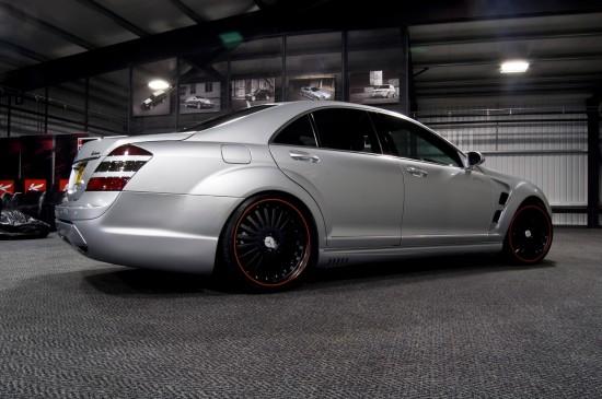 Kahn RSL Mercedes-Benz S-Class Matte Black