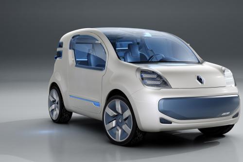 Renault Kangoo-Z E электро-концепт-кар от Рено. Эксклюзивная фотография автомобиля на сайте автотематика в высоком разрешении.