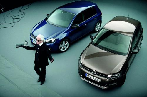 Volkswagen Polo и Golf Style by Karl Lagerfeld