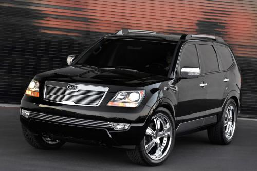 KIA Motors America демонстрирует стилизованные концепции транспортных средств во время шоу SEMA 2008