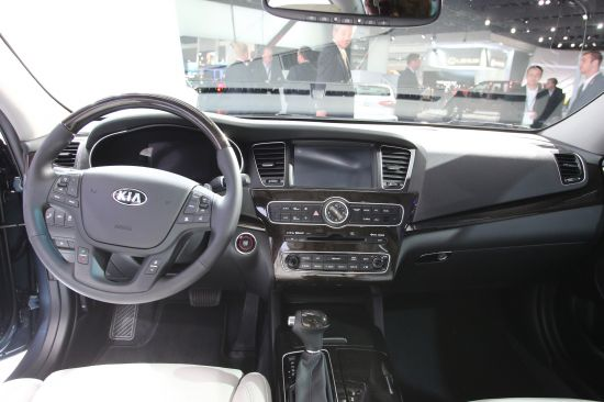 Kia Cadenza Detroit