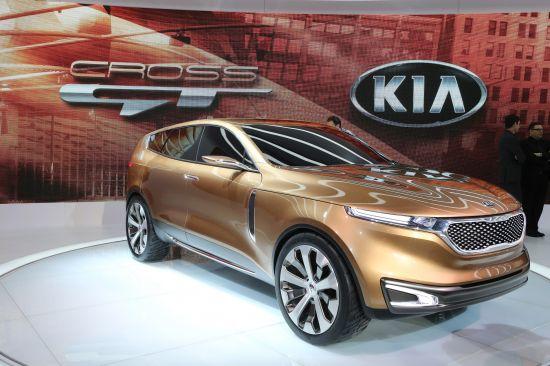 Kia Cross GT Concept Chicago