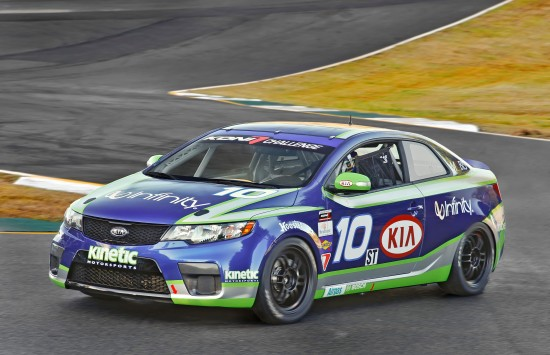Kia Forte Koup GRAND-AM race car