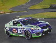 Kia Forte Koup GRAND-AM race car, 1 of 15