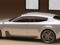 thumbnail image of KIA Four-door Sports Sedan Concept
