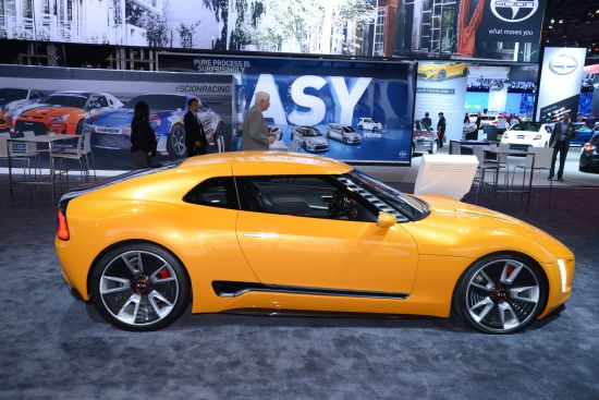 Kia GT4 Stinger Concept New York