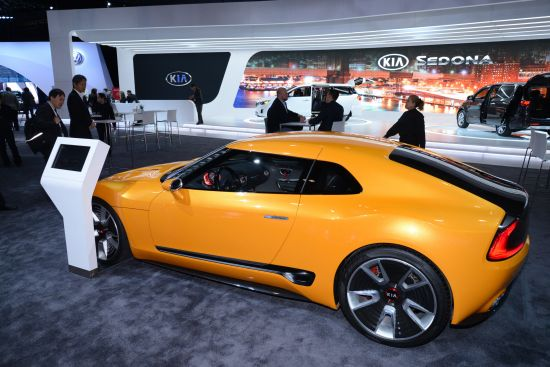 Kia GT4 Stinger Concept New York
